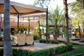 Vista resort turco — Foto Stock