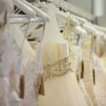 A few beautiful wedding dresses — Stock Photo #1799219