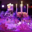 Table set for an event party — Stock Photo #43453073