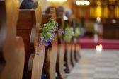 美しい野生の花ウエディング装飾 — ストック写真