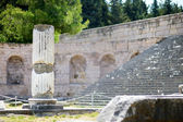 Historical ruins of Asclepieion on Kos — 图库照片