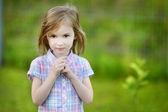 Adorable little girl portrait — Stock Photo