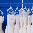 A few beautiful wedding dresses — Stock Photo #43467009