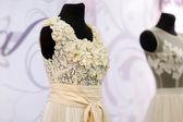 Krásné svatební šaty — Stock fotografie