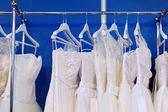 Een paar prachtige trouwjurken — Stockfoto
