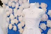 Vestidos de noiva linda — Foto Stock