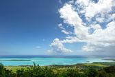 Landscape of Mauritius island — Stock Photo