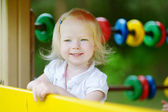 Girl at playground — Stock Photo