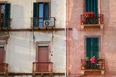 House facades — Stock Photo