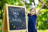 Piccola scolara — Foto Stock