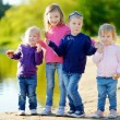 Three sisters and their brother — Stock Photo #49612069