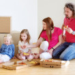 Family in new home — Stock Photo #49612147