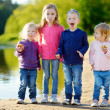 Three sisters and their brother — Stock Photo #50226639