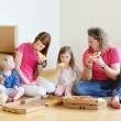 Family in new home — Stock Photo #50226665