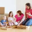 Family in new home — Stock Photo #50226823