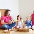 Family in new home — Stock Photo #50392079