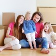 Family in new home — Stock Photo #50392103