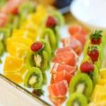 Sliced fresh fruits — Stock Photo #51535469