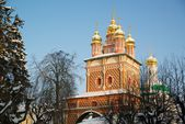 Nice church from Sergiev Posad — Stock Photo