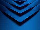 Elegant blue metallic background with corner — Stock Photo