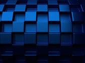 Chess blue metallic background — Stock Photo
