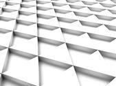 Witte achtergrond met driehoek — Stockfoto