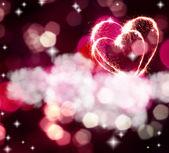 Sparkling heart — Fotografia Stock