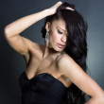 Fashion photo of young lady — Stock Photo