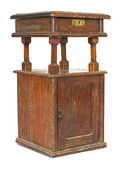 Ancient bedside table. — Stockfoto