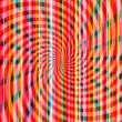 Stripe pattern with bright red and pink — Stockfoto
