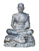 Pomnik buddyjski mnich — Zdjęcie stockowe