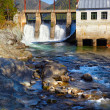 Chemal hydroelectric power plant — Stock Photo #13107865