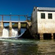 Chemal hydroelectric power plant — Stock Photo