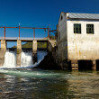 Chemal hydroelectric power plant — Stock Photo #13107869