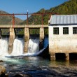 Chemal hydroelectric power plant — Stock Photo #13107870