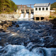 Chemal hydroelectric power plant — Stock Photo #13107872