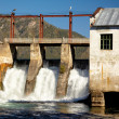 Chemal hydroelectric power plant - Stock Photo