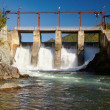 Chemal hydroelectric power plant — Stock Photo #13107897
