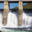 Chemal hydroelectric power plant — Stock Photo #13107904