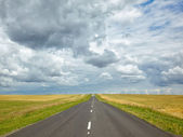 Altai road — Stock Photo