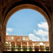 Royalty-Free Stock Photo: Arch in The Colosseum