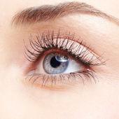 Kvinna öga — Stockfoto