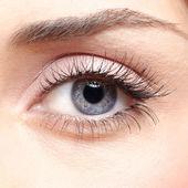 женщина глаз — Стоковое фото