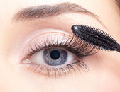 Mascara make-up — Stok fotoğraf