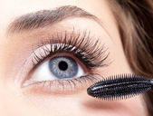 Mascara makeup — Stock Photo