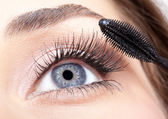 Make-up mascara — Stockfoto