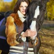 Horsewoman — Stock Photo #18418761