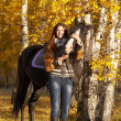 Stock Photo: Horsewoman
