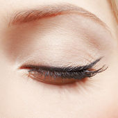 Eye zone makeup — Stock Photo