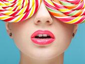 Sugarplum glasses — Stock Photo